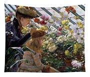 Chrysanthemums, 1890 Tapestry