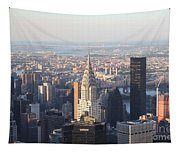 Chrysler Building From The Empire State Building Tapestry