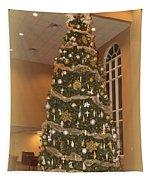 Church Christmas Tree Tapestry