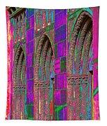 Church Doors Pop Art Tapestry