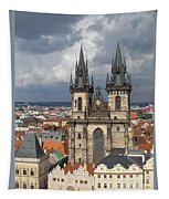 Church Of Our Lady Before Tyn - Prague Tapestry