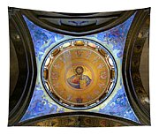 Church Of The Holy Sepulchre Catholicon Tapestry