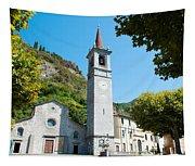 Church On Main Square, Varenna, Lake Tapestry