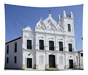 Church Sao Luis Brazil Tapestry
