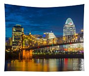 Cincinnati Downtown Tapestry