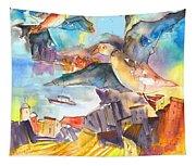 Cinque Terre 05 Tapestry