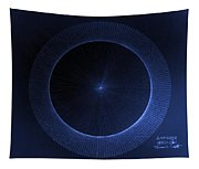 Circles Don't Exist Pi 180 Tapestry