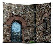 Circular Church Window Tapestry