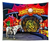 Circus Act Tapestry