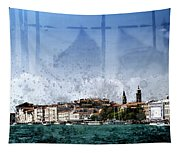 City-art Venice Panoramic Tapestry