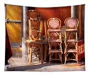 City - Chairs - Red Tapestry