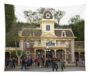 City Hall Main Street Disneyland Tapestry