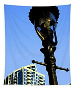 City Lamp Post Tapestry