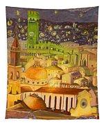 City Light Star Light Tapestry