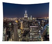 City Lights Tapestry