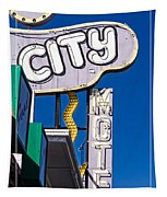 City Motel Las Vegas Tapestry