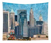 City - Ny - A Touch Of The City Tapestry