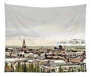 City Of Reykjavik  Tapestry