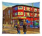 City Paint Benjamin Moore Rue Rachel And Hotel And De Ville Montreals Oldest Paint Store  C Spandau  Tapestry