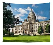 City - Providence Ri - The Capitol  Tapestry