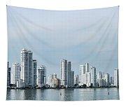 City Skyline, Castillogrande Tapestry