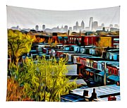 City View Five Tapestry