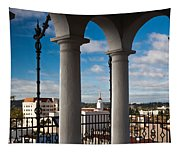 City Viewed Through From The Santa Tapestry