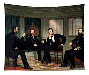 Civil War Union Leaders -- The Peacemakers Tapestry