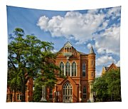 Clark Hall - University Of Alabama Tapestry
