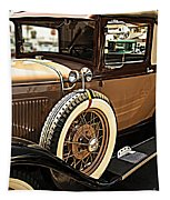 Classic 1928 Ford Model A Sport Coupe Convertible Automobile Car Tapestry