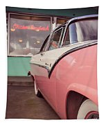 American Graffiti  Tapestry by Edward Fielding