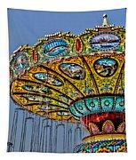 Classic Amusement Swing Tapestry