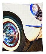 Classic Corvette Palm Springs Tapestry