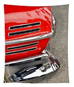 Classic Impala In Red Tapestry