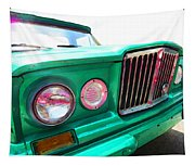 Classic Jeep J3000 4 Wheel Drive By Sharon Cummings Tapestry