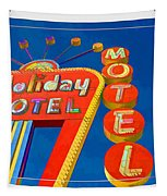 Classic Old Neon Signs Tapestry by Edward Fielding
