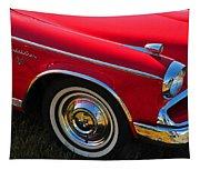 Classic Red Studebaker Tapestry