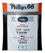 Classic Vintage Gilbarco Phillips 66 Gas Pump Dsc02751 Tapestry