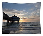 Clearwater Florida Pier 60 Tapestry