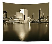 Cleveland In Sepia Tapestry