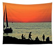 Cleveland Lakefront Tapestry
