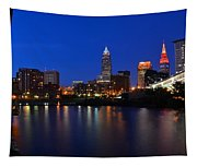 Cleveland Panorama Tapestry