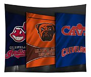 Cleveland Sports Teams Tapestry
