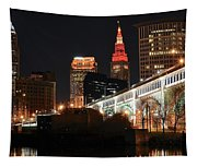 Cleveland Up Close Tapestry
