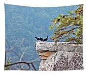 Cliff Hanging Tapestry