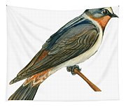 Cliff Swallow  Tapestry