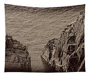 Cliffs At Bonavista Tapestry