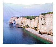 Cliffs Of Etretat 3 Tapestry