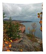 Cliffside Fall Splendor Tapestry
