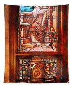 Clockmaker - An Ornate Clock Tapestry